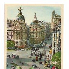 Postales: ALCALÁ Y GRAN VIA. Lote 190027307