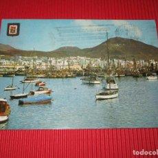 Postales: LAS PALMAS DE GRAN CANARIA - VISTA PARCIAL DEL PUERTO - Nº 120 - ESCRITA Y CIRCULADA. Lote 190057965
