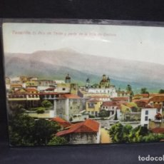 Postais: TARJETA POSTAL DE TENERIFE. EL PICO DE TEIDE Y PARTE DE LA VILLA DE OROTAVA.. Lote 190196771