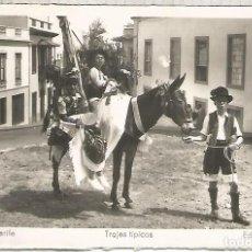 Cartoline: TENERIFE TRAJE TIPICO SIN ESCRIBIR. Lote 190757376