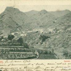 Cartoline: TENERIFE IGUESTE. CIRCULADA EN 1904. RARA.. Lote 190996263