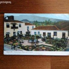 Postales: TARJETA POSTAL TENERIFE - 3224 PUERTO CRUZ - PLAZA DR. PEREZ - NOBREGA´S ENGLISH BAZAR. Lote 191159647