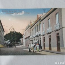 Postales: TENERIFE - SANTA CRUZ - TEATRO - AVENIDA Y PLAZOLETA STO. DOMINGO - S/C. Lote 191166476