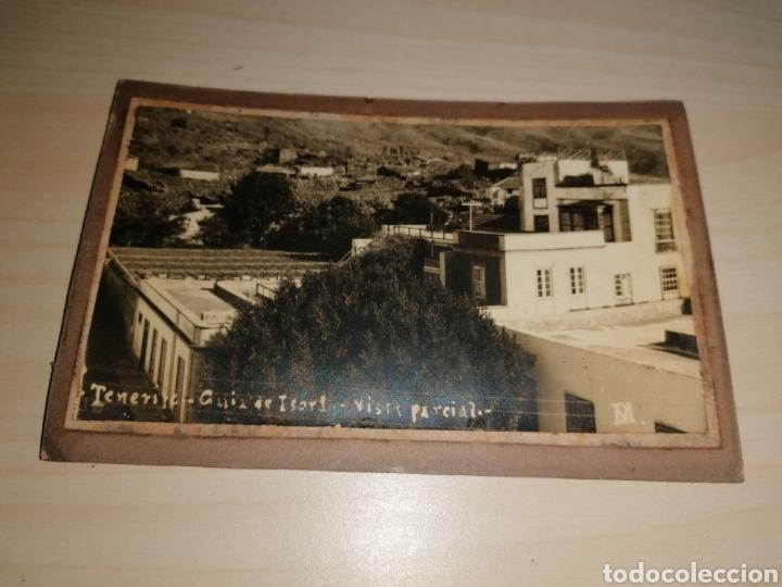 ANTIGUA POSTAL SOBRE CARTÓN, DE GUÍA DE ISORA. TENERIFE (Postales - España - Canarias Antigua (hasta 1939))