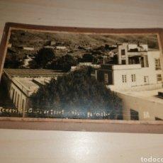 Postales: ANTIGUA POSTAL SOBRE CARTÓN, DE GUÍA DE ISORA. TENERIFE. Lote 191174522