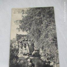 Postales: LAS PALMAS - CORRIENTE DE AGUA. AGAETE - RODRIGUES BROS. PUERTO DE LA LUZ 41 - S/C. Lote 191188667