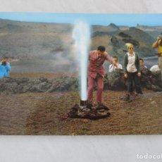 Postales: LANZAROTE - MONTAÑA DEL FUEGO GEISER - S/C. Lote 191189440