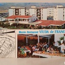 Postales: MESÓN RESTAURANT VIUDA DE FRANCO/ GRAN CANARIA/ SIN CIRCULAR/ 10'5×15/ REF.A31. Lote 191221512