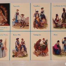Postales: LA PALMA/ CANARIAS/ TRAJES TÍPICOS/ SIN CIRCULAR/ 10'5×15/ REF.A31. Lote 191221870