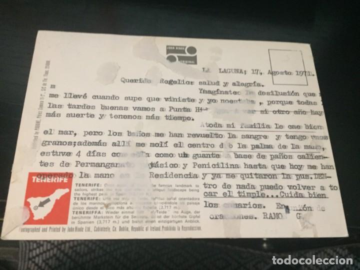 Postales: POSTAL DE TENERIFE - TEIDE - BONITAS VISTAS - LA DE LA FOTO VER TODAS MIS POSTALES - Foto 2 - 194011218