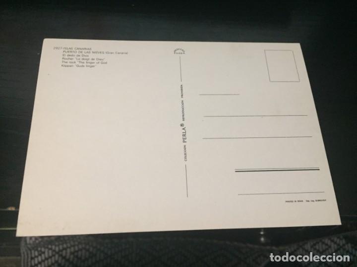 Postales: POSTAL DE GRAN CANARIA - PUERTO DE LAS NIEVES- BONITAS VISTAS - LA DE LA FOTO VER TODAS MIS POSTALES - Foto 2 - 194011276