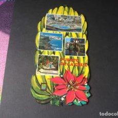 Postales: POSTAL DEL PUERTO DE LA CRUZ - PRECIOSA POSTAL TROQUELADA - LA DE LA FOTO VER TODAS MIS POSTALES. Lote 194012200