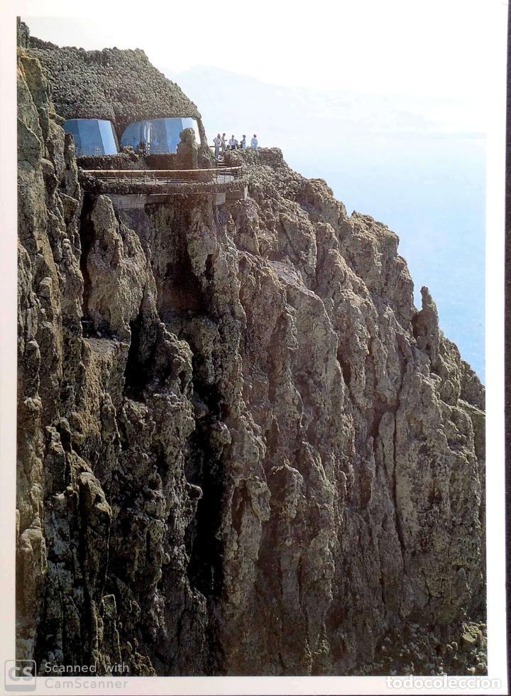 LANZAROTE. MIRADOR DEL RÍO. CROMOIMAGEN. NUEVA. COLOR. DORSO CON SEÑALES DE HABER ESTADO PEGADA (Postales - España - Canarias Moderna (desde 1940))