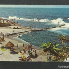 Postales: POSTAL SIN CIRCULAR - BAJAMAR - TENERIFE - PISCINAS DE AGUA DE MAR - EDITA AVA. Lote 194264560