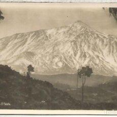 Postales: TENERIFE TEIDE ESCRITA. Lote 194330037