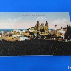 Postales: TARJETA POSTAL LAS PALMAS DE GRAN CANARIA - 11190 VISTA DE LA CATEDRAL. Lote 194573227