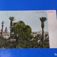 Postales: TARJETA POSTAL LAS PALMAS DE GRAN CANARIA - CATEDRAL - CIRCULADA. Lote 194574771