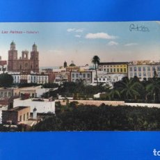Postales: TARJETA POSTAL LAS PALMAS DE GRAN CANARIA - 7824 CATEDRAL - RODRIGUEZ BROS - CIRCULADA. Lote 194606151