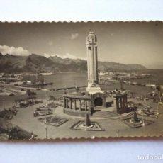 Postales: POSTAL -- SANTA CRUZ DE TENERIFE - MONUMENTO A LOS CAIDOS Y EL PUERTO -- ESCRITA --. Lote 194621560