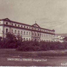 Postales: TENERIFE - HOSPITAL CIVIL JG 6. Lote 194653120