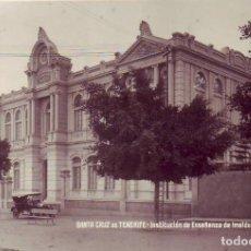 Postales: TENERIFE - INSTITUCION ENSEÑANZA DE IMELDO SERIS JG GRANDE. Lote 194654555