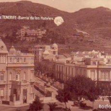 Postales: TENERIFE - BARRIO DE LOS HOTELES JG 56. Lote 194656935