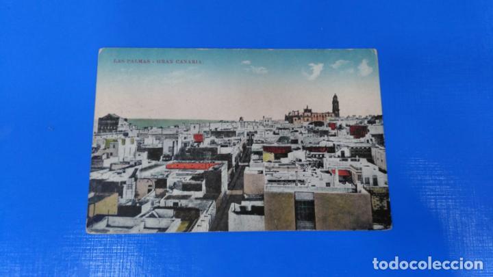 TARJETA POSTAL LAS PALMAS DE GRAN CANARIA - LAS PALMAS - CIRCULADA (Postales - España - Canarias Antigua (hasta 1939))