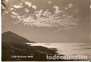POSTAL EL TEIDE. MAR DE NUBES. TENERIFE. 73-230 (Postales - España - Canarias Moderna (desde 1940))