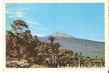 POSTAL TENERIFE. VALLE DE LA OROTAVA Y EL TEIDE. 73-232 (Postales - España - Canarias Moderna (desde 1940))