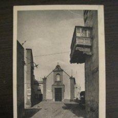 Postales: LAS PALMAS-SAN ANTONIO ABAD-IGLESIA DONDE ORO COLON-BAZAR ALEMAN-POSTAL ANTIGUA-(67.893). Lote 194727980