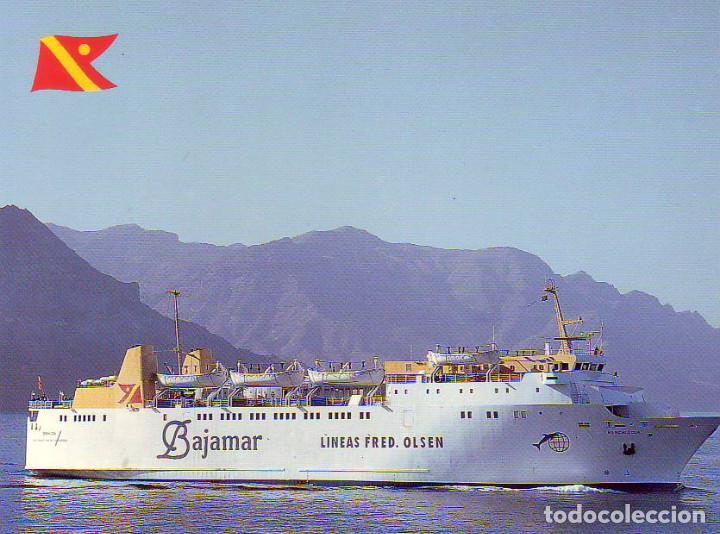 FRED OLSEN BAJAMAR CANARIAS TENERIFE (Postales - España - Canarias Moderna (desde 1940))