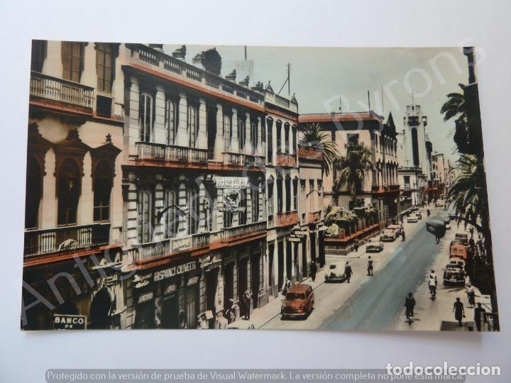 POSTAL ANTIGUA. CALLE MAYOR DE TRIANA. LAS PALMAS. DOMINGUEZ Nº 29 (Postales - España - Canarias Moderna (desde 1940))
