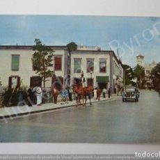Postales: POSTAL . ESCENA TÍPICA EN EL PUENTE DE PIEDRA. LAS PALMAS. Lote 194760693