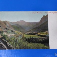 Postales: TARJETA POSTAL LAS PALMAS DE GRAN CANARIA - VALLE DE AGAETE. Lote 194877302