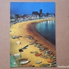 Postales: LAS PALMAS DE GRAN CANARIA. VISTA GENERAL DE LA PLAYA DE LAS CANTERAS. Nº 1004 CIRCULADA 1979. Lote 195021107