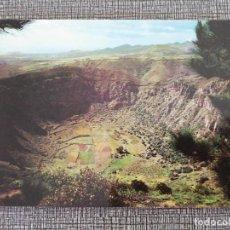 Postales: GRAN CANARIA. LA CALDERA DE BANDAMA. Lote 195094568