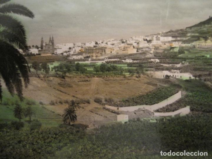 Postales: ARUCAS-VISTA PARCIAL-ED·ARRIBAS-163-POSTAL ANTIGUA-VER FOTOS-(68.030) - Foto 2 - 195119671