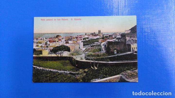 TARJETA POSTAL LAS PALMAS DE GRAN CANARIA - VISTA GENERAL DE LAS PALMAS (Postales - España - Canarias Antigua (hasta 1939))