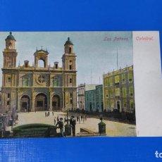 Postales: TARJETA POSTAL LAS PALMAS DE GRAN CANARIA - CATEDRAL. Lote 195171423