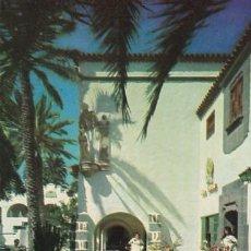 Postales: LAS PALMAS DE GRAN CANARIA PUEBLO CANARIO ED. ARRIBAS Nº 2022 AÑOS 50. Lote 195206892