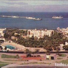 Postales: LAS PALMAS DE GRAN CANARIA CIUDAD JARDIN ED. ARRIBAS Nº 2037 AÑO 1960. Lote 195207240