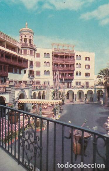 LAS PALMAS DE GRAN CANARIA HOTEL SANTA CATALINA ED. ARRIBAS Nº 2041 AÑOS 50 (Postales - España - Canarias Moderna (desde 1940))