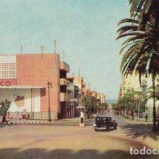 Postales: LAS PALMAS DE GRAN CANARIA CALLE DE BRAVO MURILLO ED. ARRIBAS Nº 2044 AÑOS 50. Lote 195207912