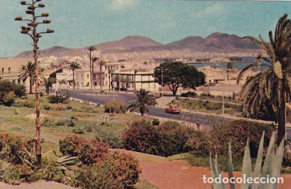 LAS PALMAS DE GRAN CANARIA PLAZA EMILIO LEY CIUDAD JARDIN ED. ARRIBAS Nº 2045 AÑO 1960 (Postales - España - Canarias Moderna (desde 1940))