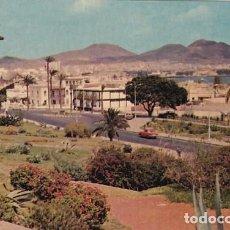 Postales: LAS PALMAS DE GRAN CANARIA PLAZA EMILIO LEY CIUDAD JARDIN ED. ARRIBAS Nº 2045 AÑO 1960. Lote 195208116