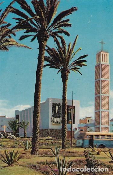 LAS PALMAS DE GRAN CANARIA IGLESIA DE SCHAMAN ED. ARRIBAS Nº 2047 AÑO 1960 (Postales - España - Canarias Moderna (desde 1940))