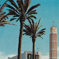 Postales: LAS PALMAS DE GRAN CANARIA IGLESIA DE SCHAMAN ED. ARRIBAS Nº 2047 AÑO 1960. Lote 195208550