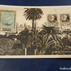 Postales: LAS PALMAS VISTA PARCIAL. FOTO BAENA. QUINTA SEVILLA. MARCA COLECCIONISTA AGUSTÍN TAVIO PÉREZ . Lote 195211958