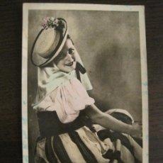 Postales: GRAN CANARIA-TRAJE TIPICO DE LANZAROTE-FOTOGRAFICA-POSTAL ANTIGUA-(68.149). Lote 195228476