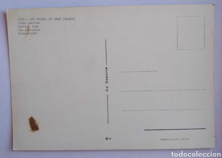 Postales: Postal 5020 las palmas de gran Canaria vista parcial beascoa - Foto 2 - 195292277